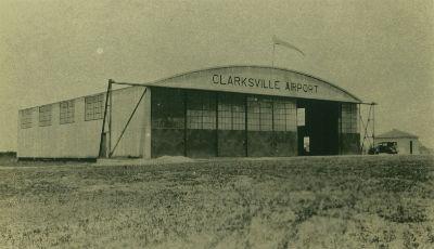 Airport Hangar Circa 1930